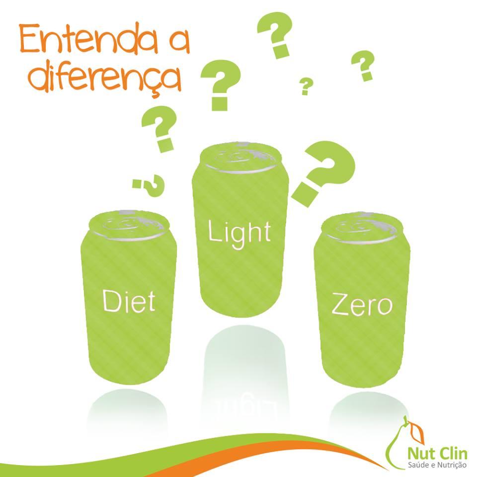 Entenda a diferença: Diet, Light e Zero!
